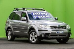 2008 Subaru Forester S3 MY09 XS AWD Premium Silver 4 Speed Sports Automatic Wagon Ringwood East Maroondah Area Preview
