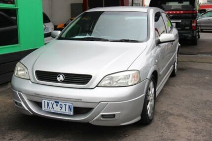 2001 Holden Astra TS SRi Silver 5 Speed Manual Hatchback Heatherton Kingston Area Preview