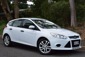 2012 Ford Focus LW MKII Ambiente White 5 Speed Manual Hatchback St Marys Mitcham Area Preview