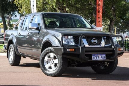 2009 Nissan Navara D40 ST-X Grey 5 Speed Automatic Utility Wilson Canning Area Preview
