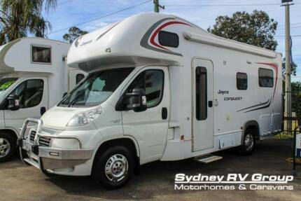 2013 Jayco Conquest Huge Rear Lounge & Electric Bed - U3498