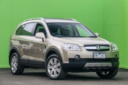 2010 Holden Captiva CG MY10 LX AWD Gold 5 Speed Sports Automatic Wagon Ringwood East Maroondah Area Preview