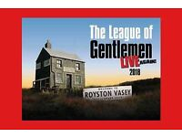 *REDUCED* 2 x League Of Gentlemen Live tickets. Cardiff Motorpoint Arena, Fri 7th Sept.