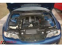 BMW e46 coupe headlights in blue for sale