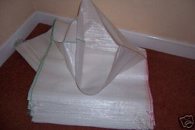10 polypropylene sacks bags 18