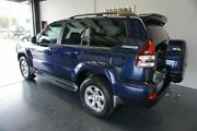 2007 Toyota Landcruiser Prado GRJ120R MY07 Grande (4x4) Blue 5 Speed Automatic Wagon Woodridge Logan Area Preview