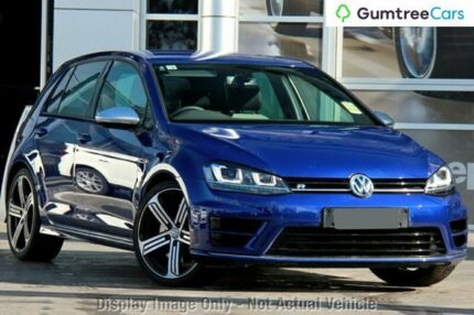 2014 Volkswagen Golf VII MY15 R DSG 4MOTION Lapiz Blue 6 Speed Sports Automatic Dual Clutch