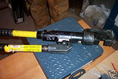 Used Kearney Hydraulic Linesman Hand Crimper