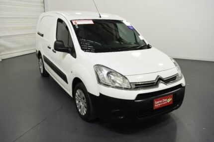 2013 Citroen Berlingo B9C MY13 L2 White Manual Van