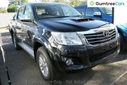 2013 Toyota Hilux KUN26R MY12 SR5 Double Cab Black 5 Speed Manual Utility Invermay Launceston Area Preview