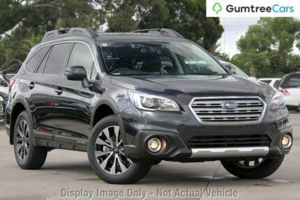 2017 Subaru Outback B6A MY17 2.0D CVT AWD Premium Dark Grey 7 Speed Constant Variable Wagon