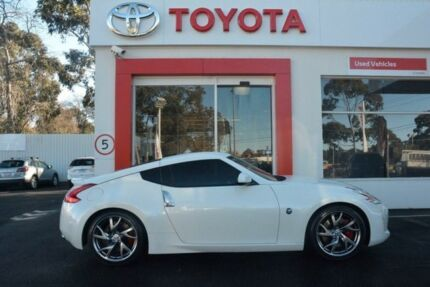 2015 Nissan 370Z Z34 MY15 White 6 Speed Manual Coupe
