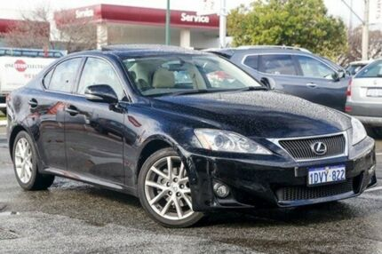 2012 Lexus IS250 GSE20R MY11 Prestige Black 6 Speed Sports Automatic Sedan