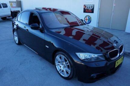 2009 BMW 320i E90 MY09 Executive Black 6 Speed Auto Steptronic Sedan Milperra Bankstown Area Preview