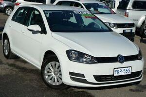 2015 Volkswagen Golf VII MY16 92TSI Pure White 6 Speed Manual Hatchback Phillip Woden Valley Preview