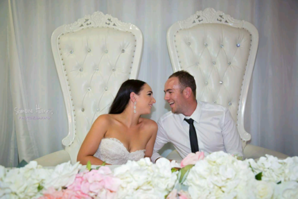 199 King Queen Throne Chairs Hire