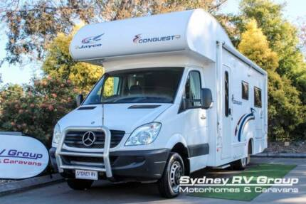 U3533 Jayco Conquest 2.2CDI Automatic With Twin Single Bed Layout