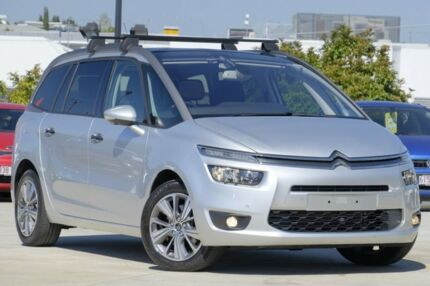 2014 Citroen Grand C4 Picasso B7 Exclusive Silver 6 Speed Sports Automatic Wagon