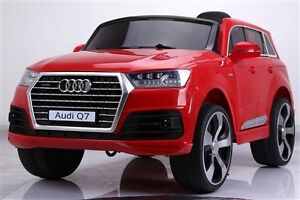 Brand New 12V Licensed AUDI Q7 SUV Child Ride On Deluxe w Doors