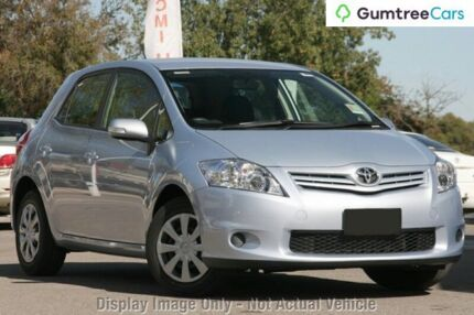 2010 Toyota Corolla ZRE152R MY10 Ascent Blue 4 Speed Automatic Hatchback Gymea Sutherland Area Preview
