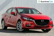 2017 Mazda 3 BN MY17 SP25 GT Soul Red 6 Speed Automatic Sedan Liverpool Liverpool Area Preview