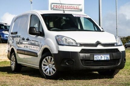2014 Citroen Berlingo B9C MY14 L2 HDi White 5 Speed Manual Van