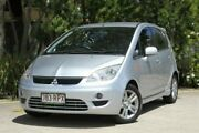 2010 Mitsubishi Colt RG MY09 VR-X Silver 1 Speed Constant Variable Hatchback Underwood Logan Area Preview