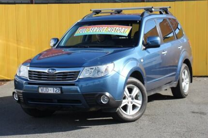 2008 Subaru Forester S3 MY09 XS AWD Blue 4 Speed Sports Automatic Wagon Heatherton Kingston Area Preview