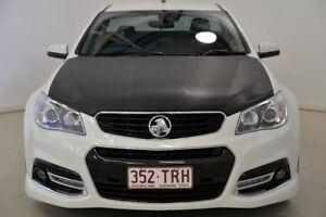 2013 Holden Ute VF MY14 SS V Ute Redline White 6 Speed Manual Utility