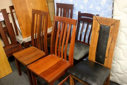 CLOSING DOWN SALE 89 JARRAH MARRI CHAIRS