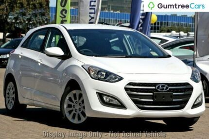 2015 Hyundai i30 GD3 Series II MY16 Active White 6 Speed Sports Automatic Hatchback Hillcrest Logan Area Preview