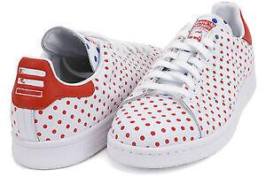 Neuf Adidas PW Stan Smith SPD B25401 Pharrell Williams Polka 11