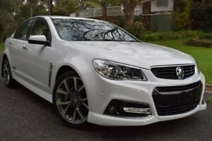 2014 Holden Commodore VF MY14 SS V White 6 Speed Sports Automatic Sedan St Marys Mitcham Area Preview
