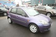 2007 Ford Fiesta WQ LX Purple 5 Speed Manual Hatchback Kingsville Maribyrnong Area Preview