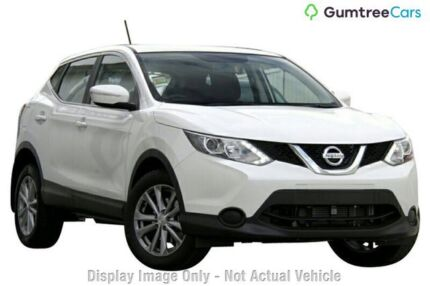 2017 Nissan Qashqai ST ST Ivory Pearl Constant Variable Wagon