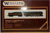 WILLIAMS ELECTRIC TRAINS NORFOLK & WESTERN  J4-8-4 #5601 O-GAUGE