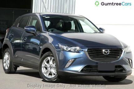 2018 Mazda CX-3 DK2W7A Maxx SKYACTIV-Drive Eternal Blue 6 Speed Sports Automatic Wagon