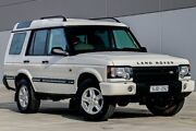 2003 Land Rover Discovery 03MY Td5 White 4 Speed Automatic Wagon Pakenham Cardinia Area Preview