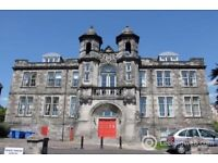 Top Floor apartment in historic building with fantastic views. Two bedrooms, balcony and tower.