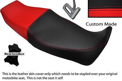 BLACK AND BRIGHT RED CUSTOM FITS <em>YAMAHA</em> FZR 1000 87 95 DUAL SEAT COVER