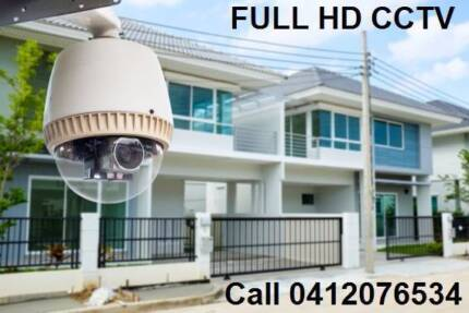 8 Full HD 1080P NightVision CCTV Security Camera Package