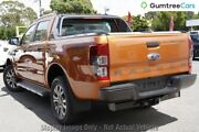 2015 Ford Ranger PX MkII Wildtrak Double Cab Orange 6 Speed Sports Automatic Utility Osborne Park Stirling Area Preview