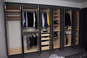 Custom Made Closets and Storage Solutions.