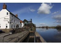 Experienced BAR PERSON for riverside gastropub near Southwell Notts