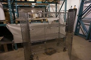 Metro Heavy Duty Stainless Steel Commercial Security Cage