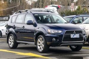 2011 Mitsubishi Outlander ZH MY11 Activ 2WD Blue 5 Speed Manual Wagon Ringwood East Maroondah Area Preview