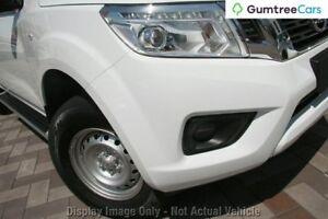 2017 Nissan Navara SL SL Polar White Manual Dual Cab Utility