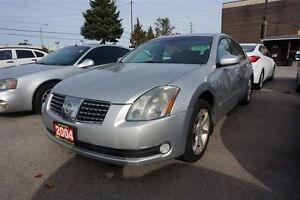 2004 Nissan Maxima SE, SUNROOF,ALLOY,AS IS,