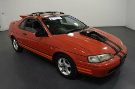 1992 Toyota Paseo Red 4 Speed Automatic Coupe