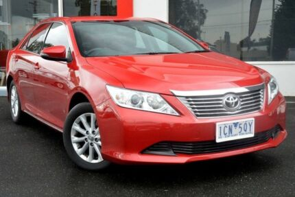 2014 Toyota Aurion GSV50R AT-X Red 6 Speed Sports Automatic Sedan